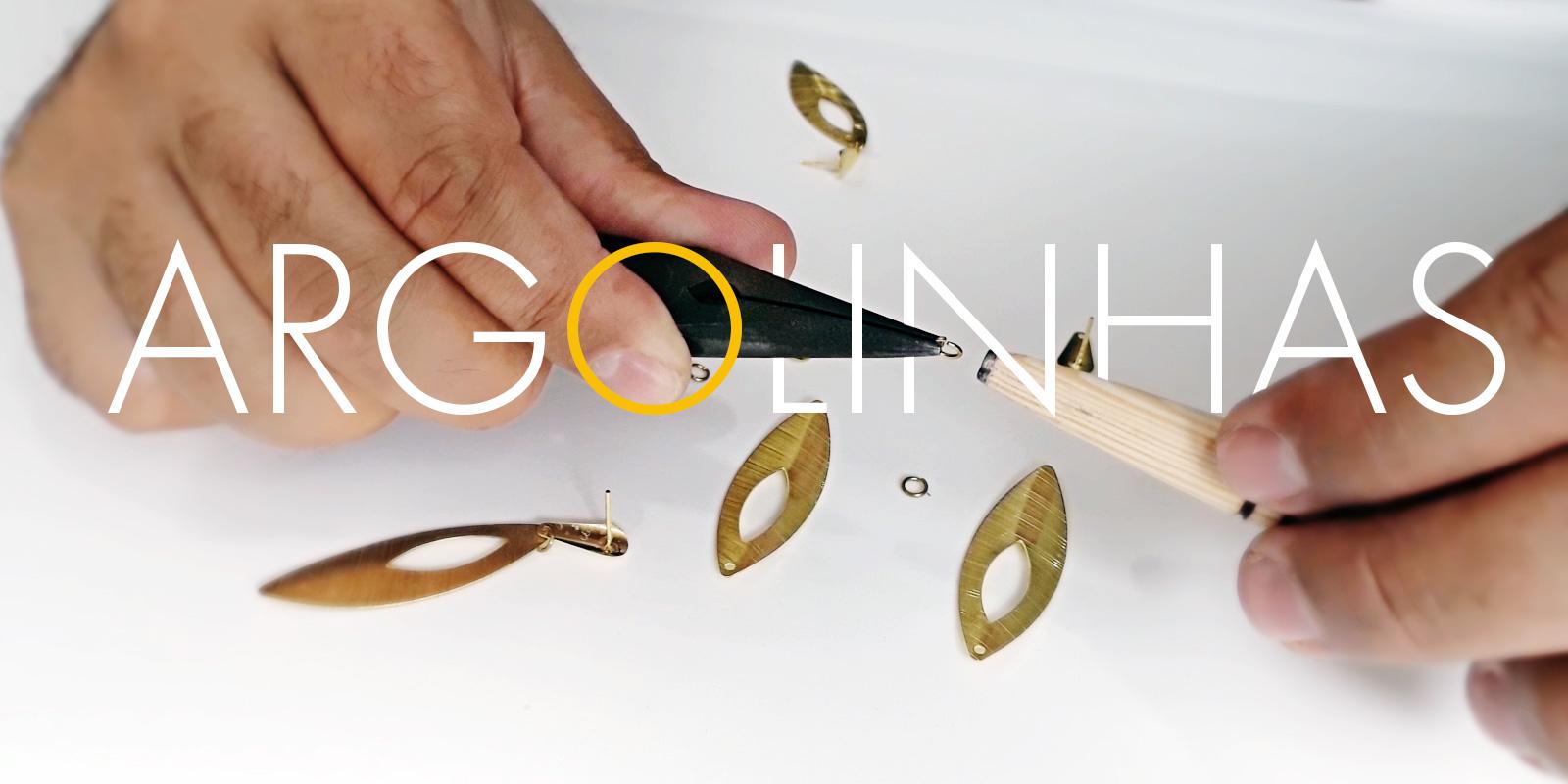 Argolinhas para montagem de bijuterias