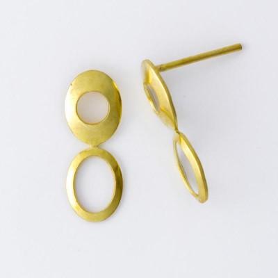 Detalhes do produto Base com Pino para Brinco Oval 784