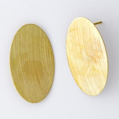 Detalhes do produto Base com Pino para Brinco Oval 682