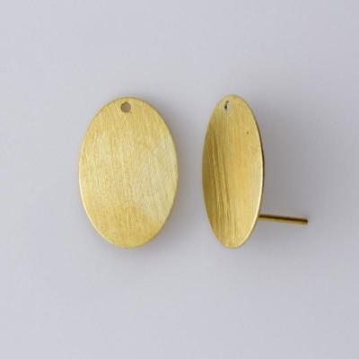Detalhes do produto Base com Pino para Brinco Oval 447