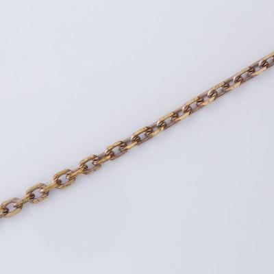 Detalhes do produto CR 058 Corrente Cartier Curta Diamantada 0,80