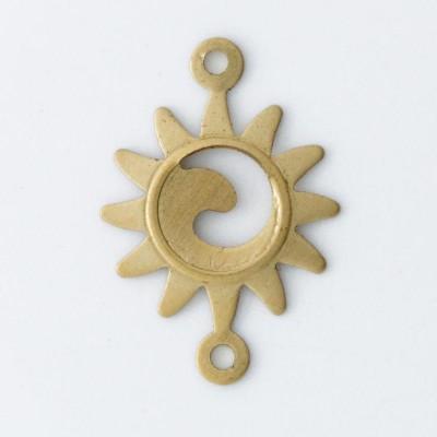 Detalhes do produto Sol com 2 argolinhas 16,96mmx11,72mm