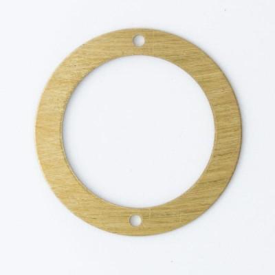 Detalhes do produto Argola com 2 furos diâmetro 20,60mm