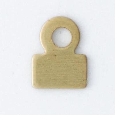 Detalhes do produto Enxadinha 1 argolinha 5,47mmx4,18mm