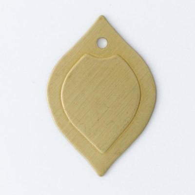 Detalhes do produto Folha com 1 furo 18,18mmx12,43mm