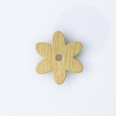 Detalhes do produto Flor com 1 furo 16,49mmx14,60mm