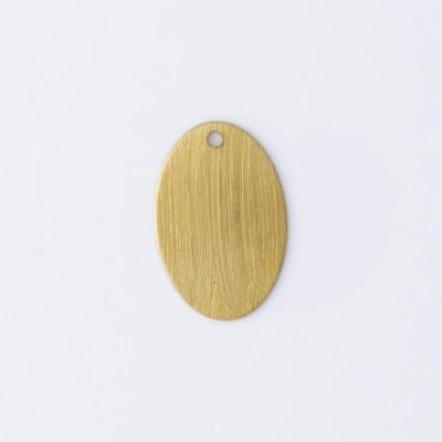 Detalhes do produto Oval com 1 furo 15,10mmx10,00mm