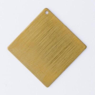 Detalhes do produto Losango com 1 furo 28,00mmx28,00mm