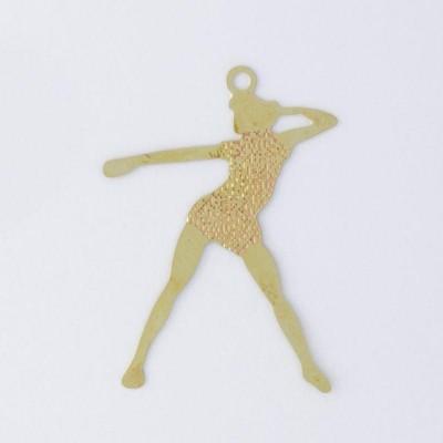 Detalhes do produto Pingente Dançarina 27,70mmx20,30mm
