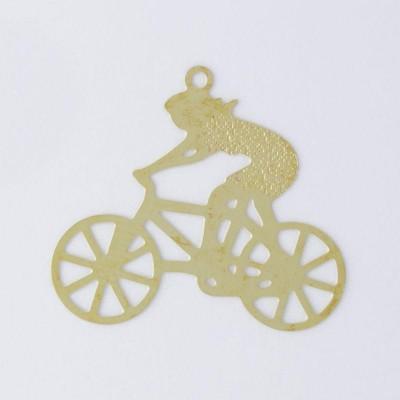 Detalhes do produto Pingente Ciclista 24,90mmx28,10mm