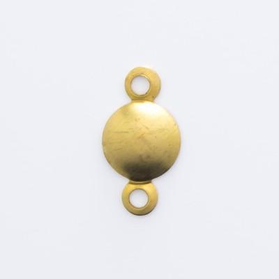 Detalhes do produto Calota com 2 argolinhas 9,56mmx5,00mm