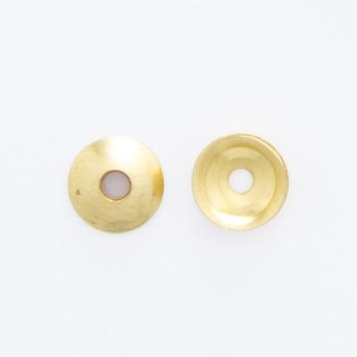 Detalhes do produto Calota abaulada com furo 4,00mm