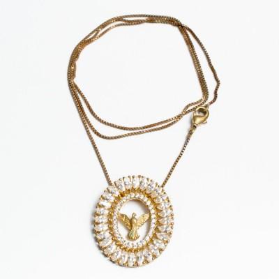 Detalhes do produto Mandala Espírito Santo C Nav Oval 26,00mmx22,50mm