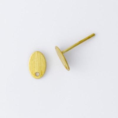 Detalhes do produto Base com Pino para Brinco Oval 945