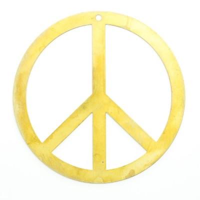 Detalhes do produto Símbolo da paz com furo 59,00mmx59,00mm