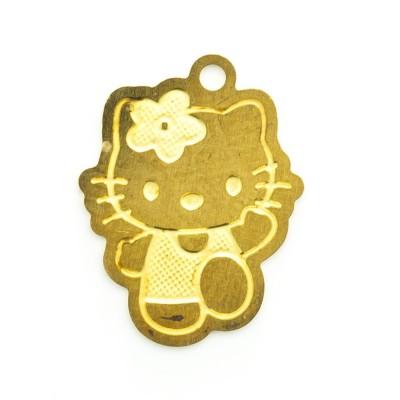 Detalhes do produto Pingente Hello Kitty 15,70mmx12,14mm