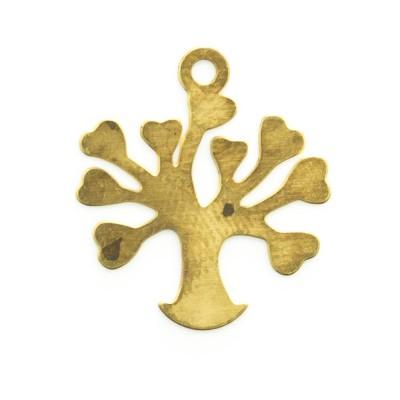 Detalhes do produto Pingente Árvore da vida com corações 17,04mmx15,42mm