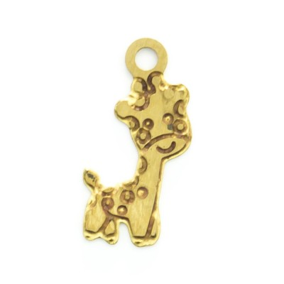 Detalhes do produto Pingente Girafinha 12,10mmx5,50mm