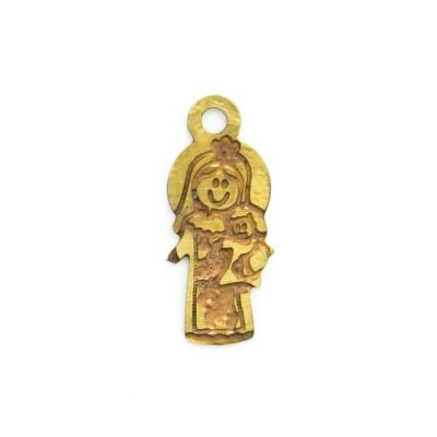 Detalhes do produto Pingente Nossa Senhora 11,91mmx5,15mm