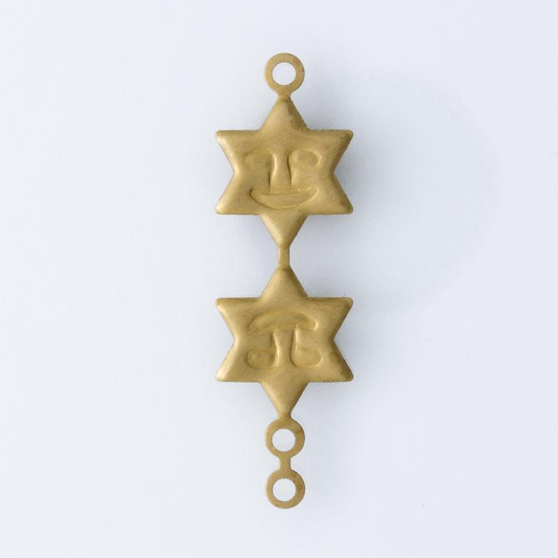 Estrela com rostinho 29,50mmx9,00mm