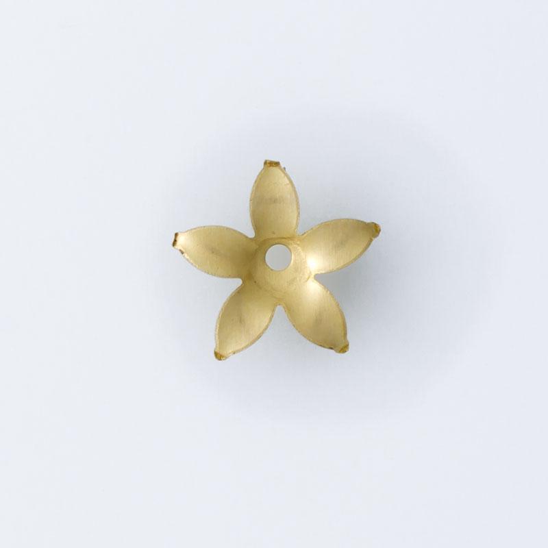 Flor com furo no centro 9,70mmx10,15mm