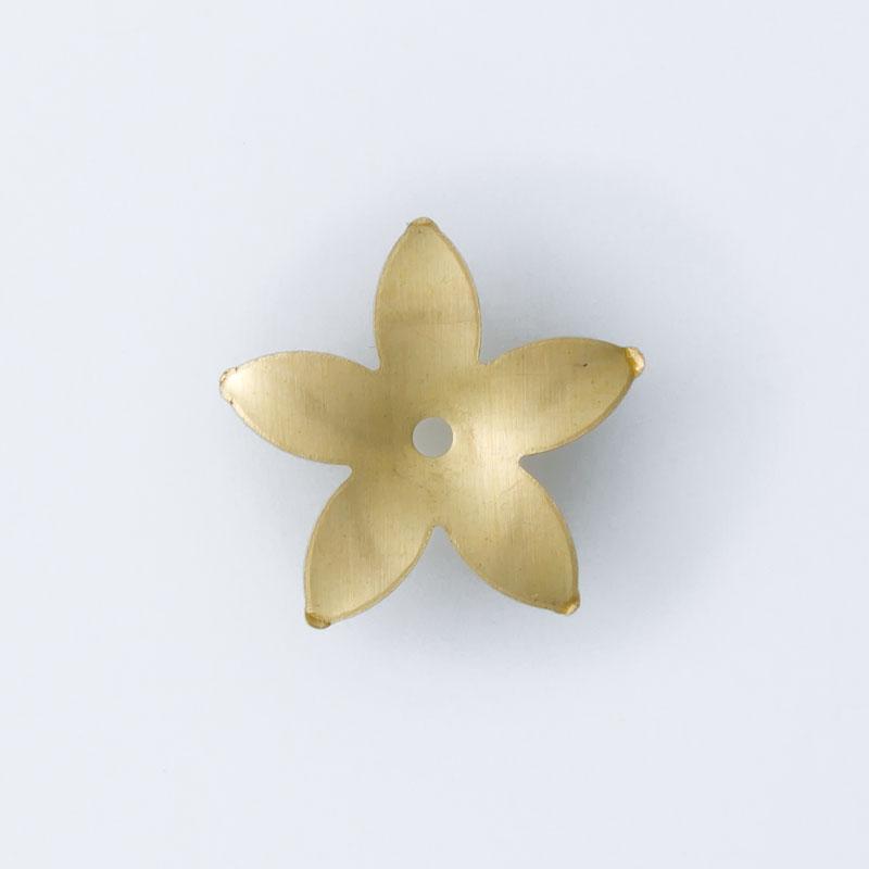 Flor com furo no centro 12,70mmx13,15mm