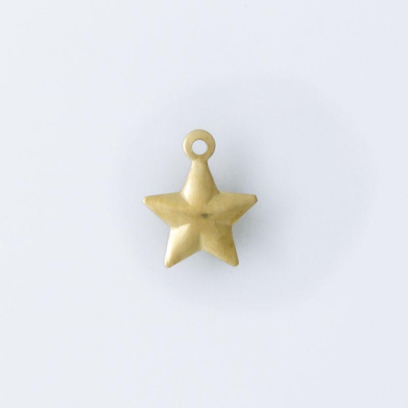 Estrela com argolinha 9,10mmx7,50mm
