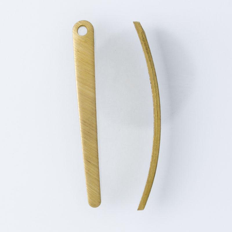 Gota curva com 1 furo 29,20mmx3,30mm
