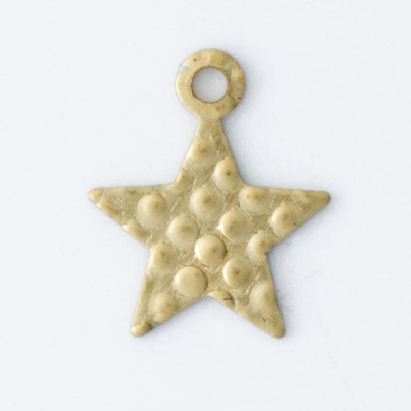 Estrela com 1 Argolinha 8,67mmx7,06mm