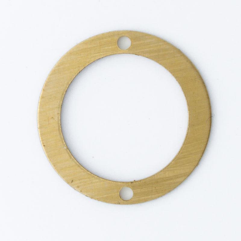 Redondo com 2 furos Diâmetro 15,16 mm