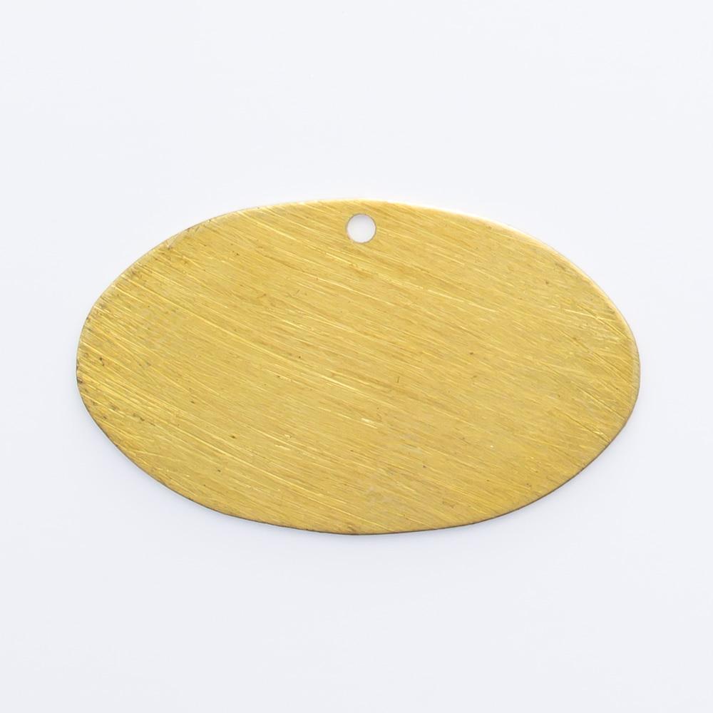 Oval com furo 13,91mmx23,27mm