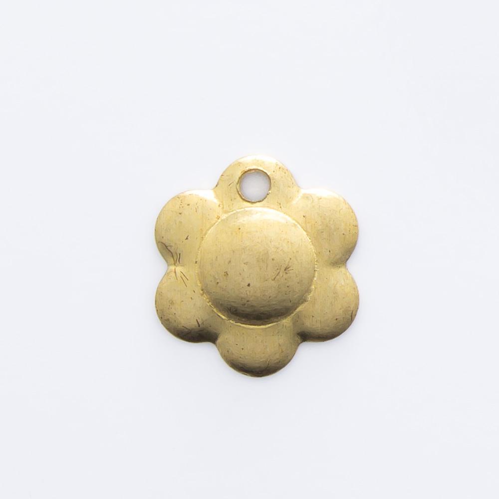 Flor com furo 7,63mmx7,00mm
