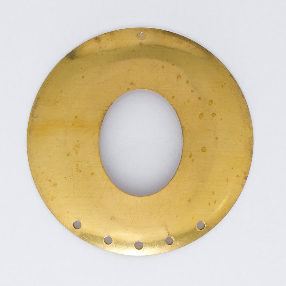 Redondo vazado com 6 furos 36,62mmx36,45mm