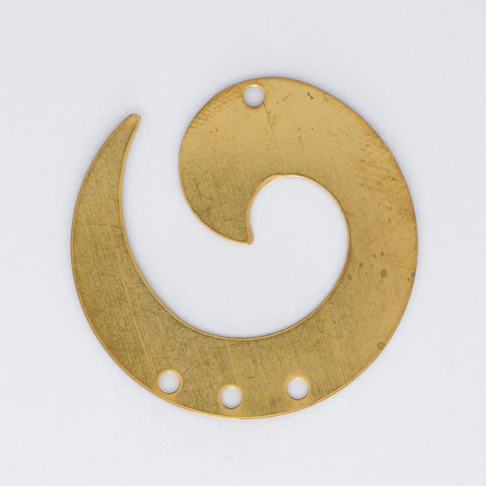 Espiral com 4 furos 24,86mmx25,15mm