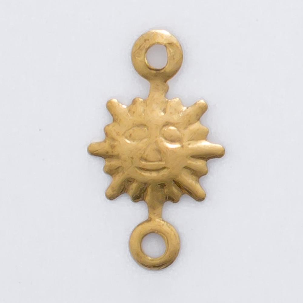 Sol com 2 argolinhas 11,74mmx6,72mm