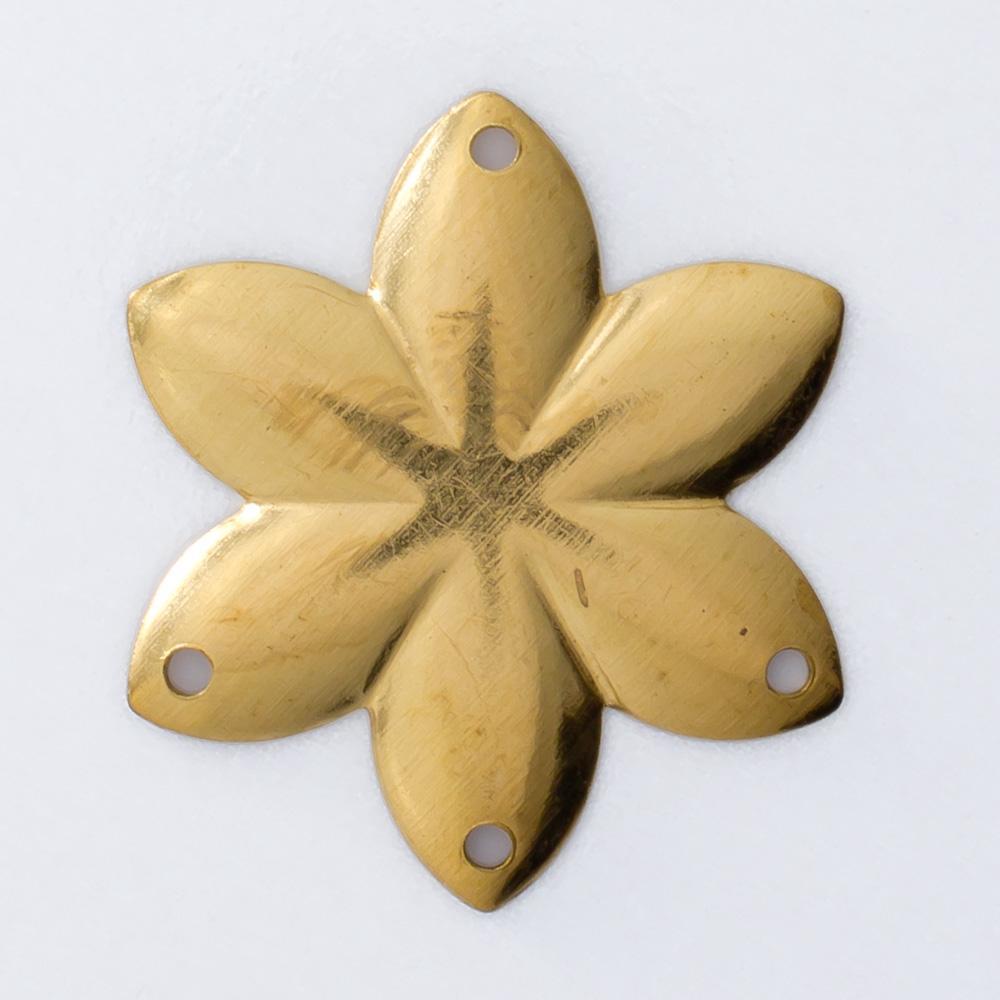 Flor com 4 furos 22,08mmx19,30mm