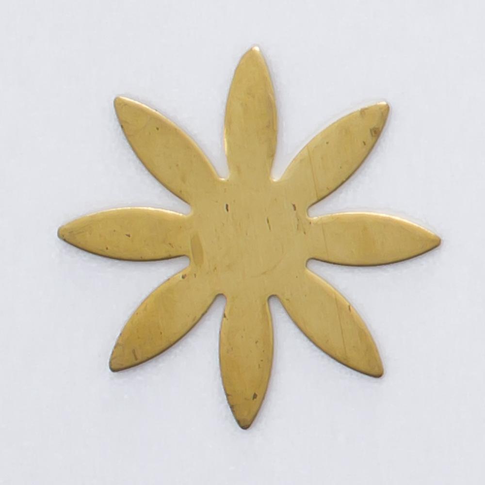 Flor 8 pétalas 13,83mmx13,83mm