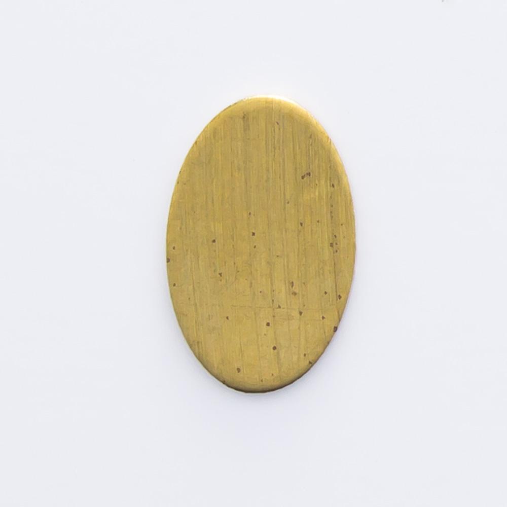Oval sem furo 8,03mmx5,08mm