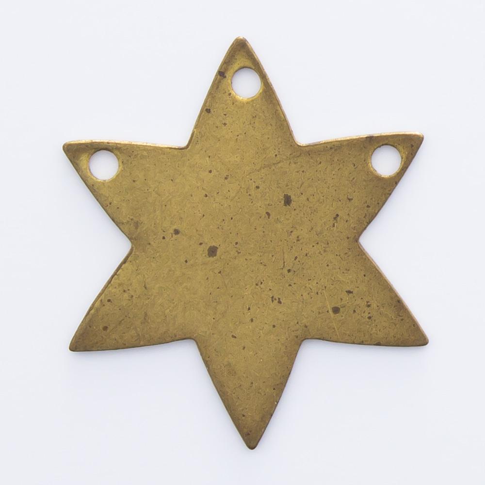 Estrela com 3 furos 16,14mmx14,07mm