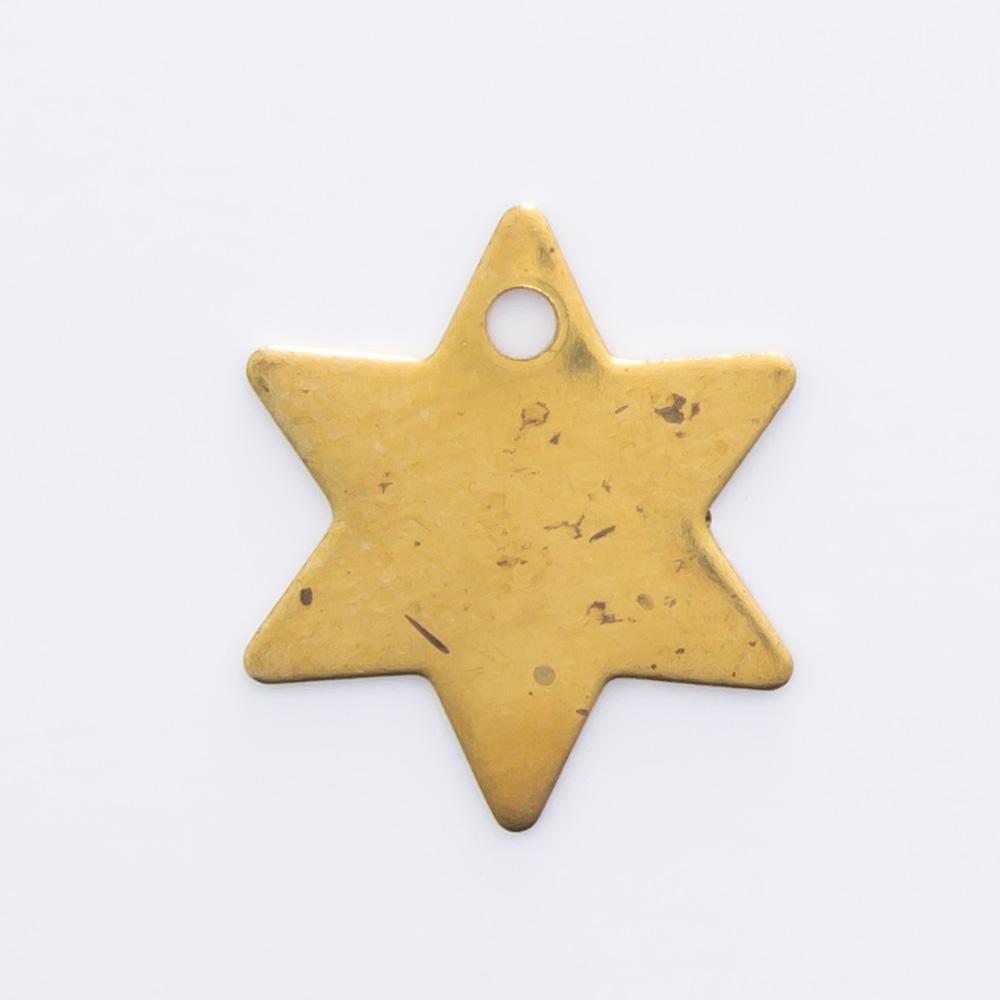 Estrela com furo 10,60mmx9,29mm