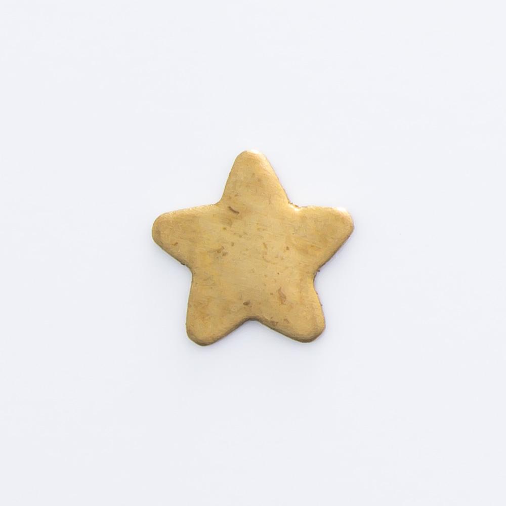 Estrela sem furo 6,40mmx6,68mm