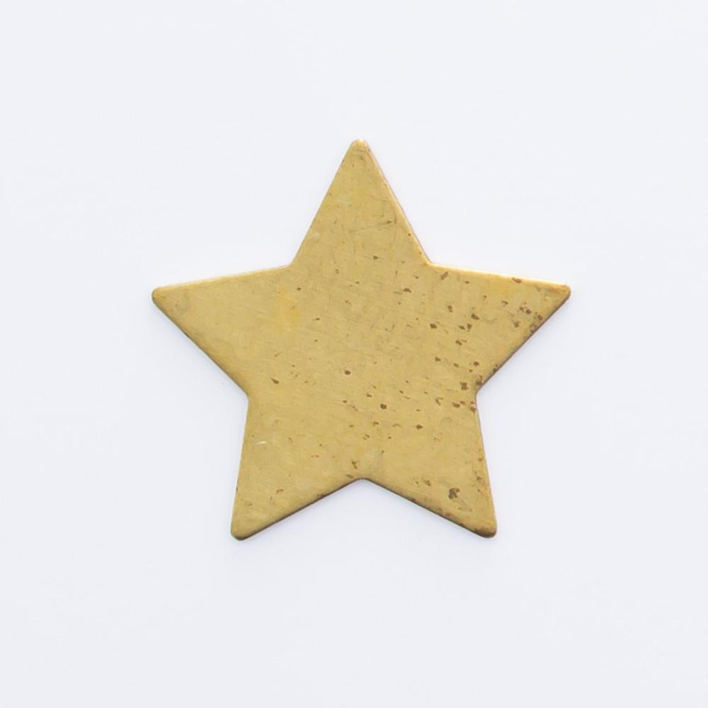 Estrela sem furo 11,02mmx11,55mm