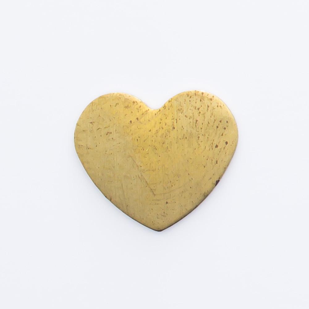 Coração abaulado 9,28mmx10,55mm