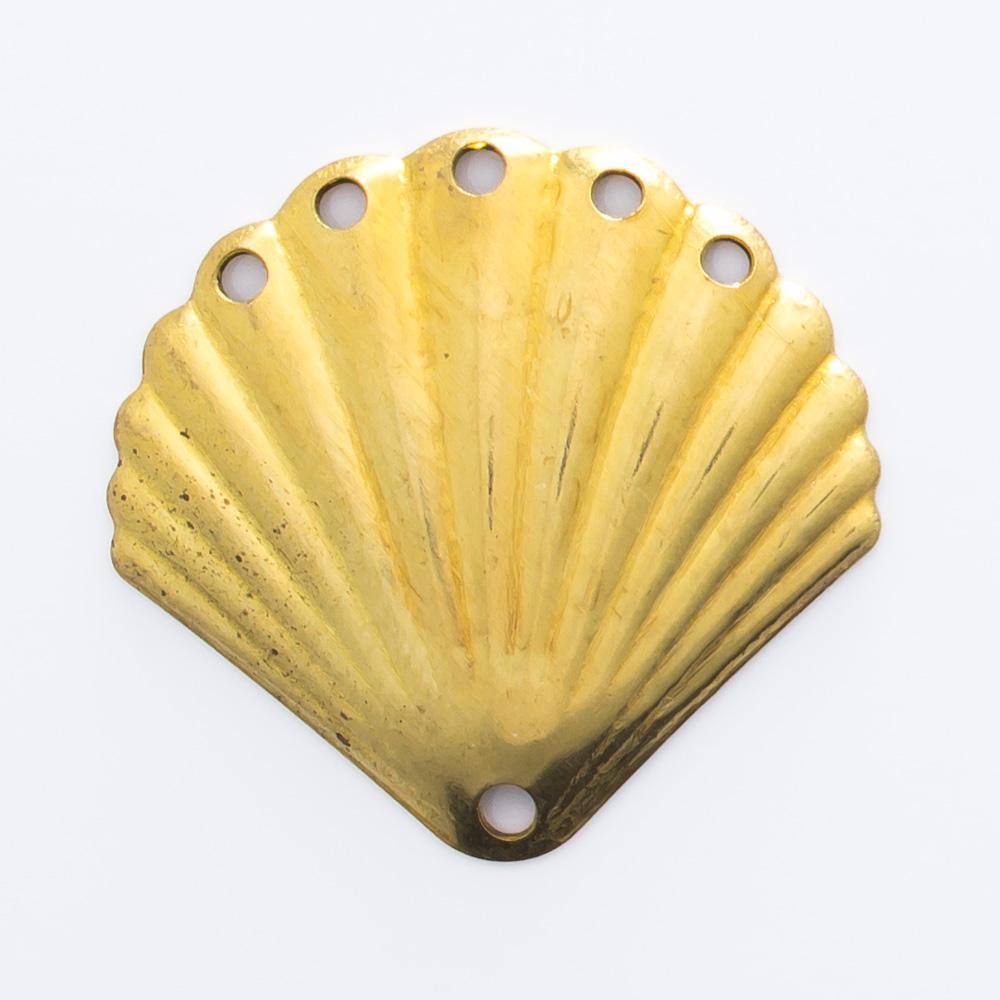 Concha com 6 furos 18,80mmx20,03mm