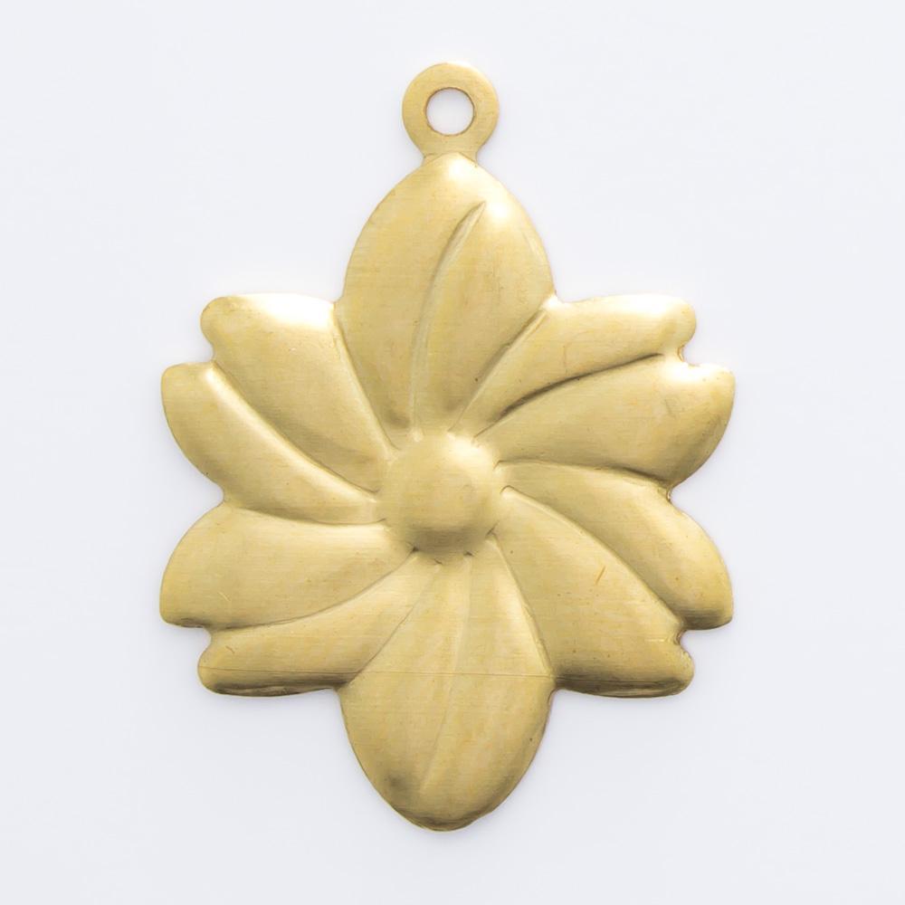 Flor com argolinha 20,09mmx13,00mm