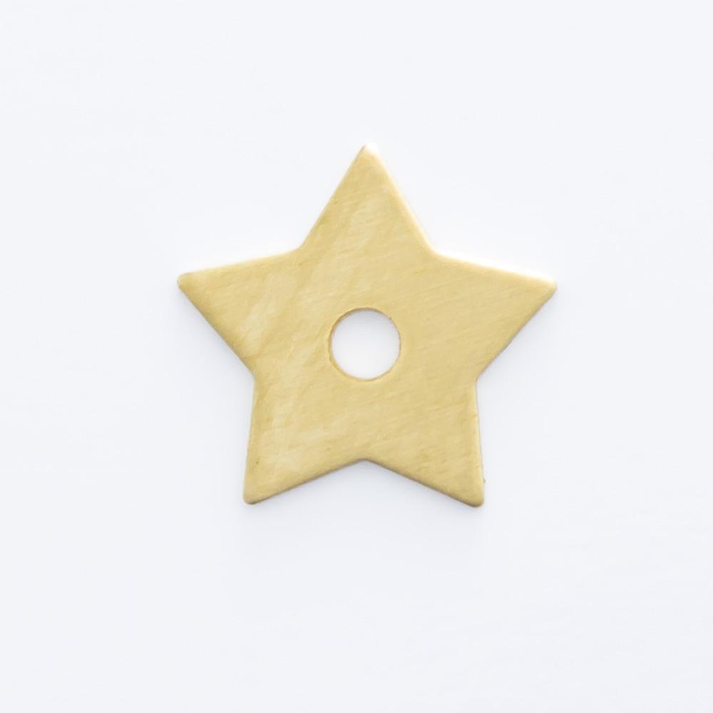 Estrela vazada 7,80mmx8,20mm