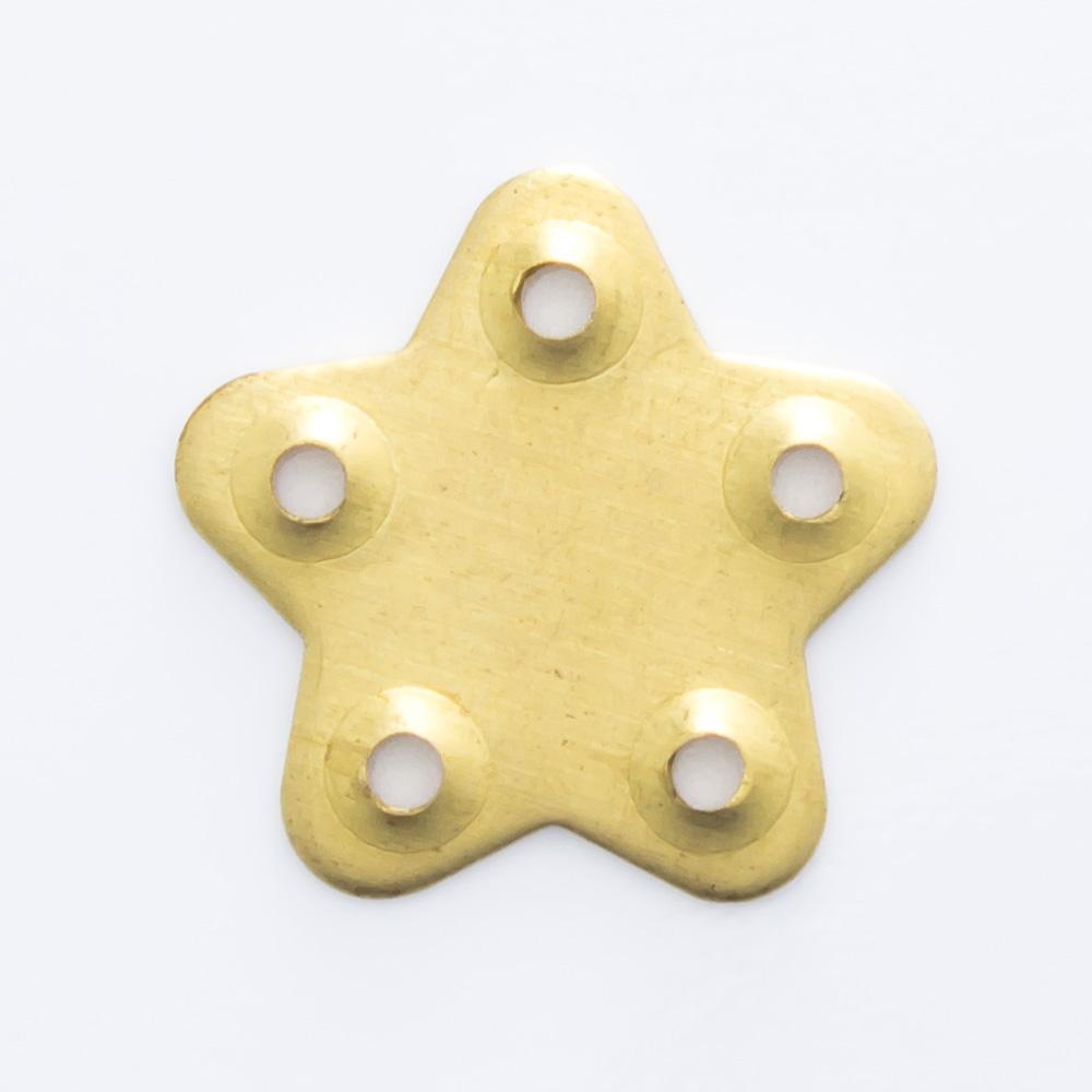 Estrela com 5 furos 11,43mmx11,80mm