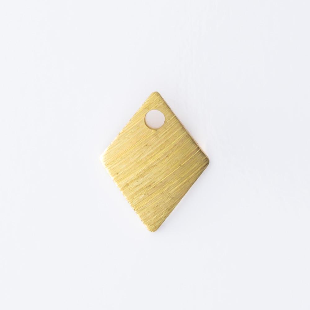 Losango com furo 8,70mmx6,70mm
