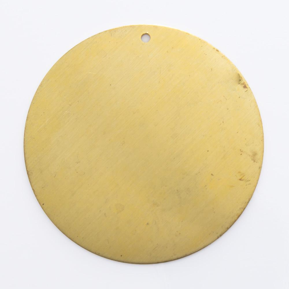 Redondo abaulado com furo 30,16mm
