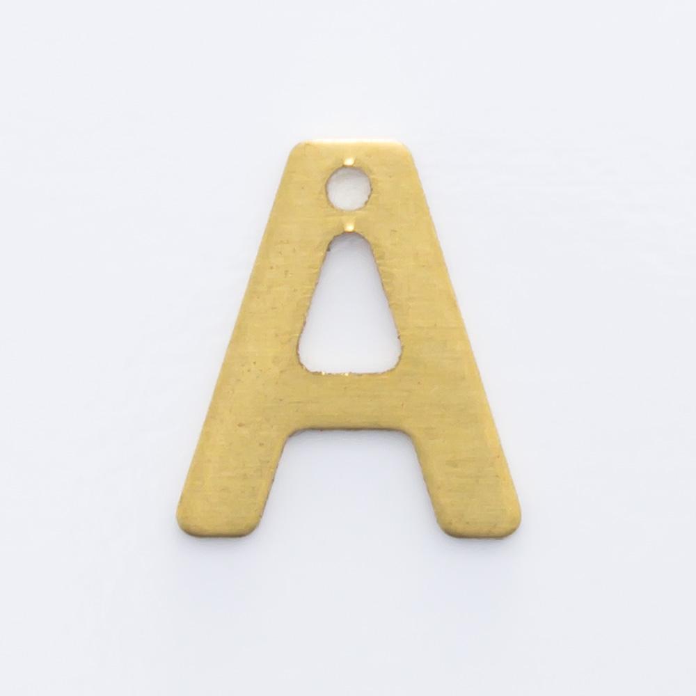 """Letra """"A"""" com furo 8,84mmx7,64mm"""
